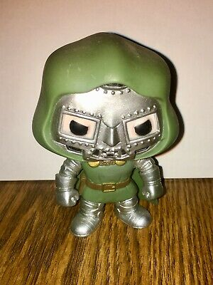 Dr Doom #17 Funko Pop Loose Figure Vaulted/Retired  Marvel Universe Oop Rare Htf