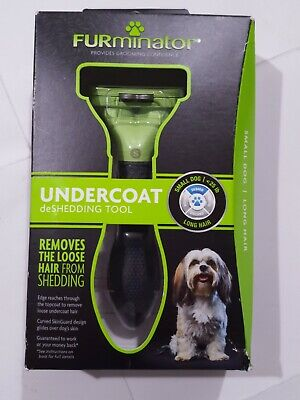 NEW Furminator Undercoat Deshedding Tool Small Dogs Long Hair  25 Lbs Deshed