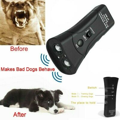 Petgentle Style Ultrasonic Anti Dog Barking Pet Trainer LED Light Gentle-Chaser