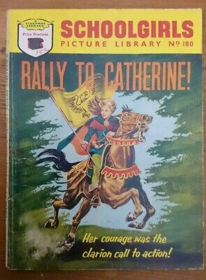 Schoolgirls Picture Library No 180 -Rally To Catherine- 1962