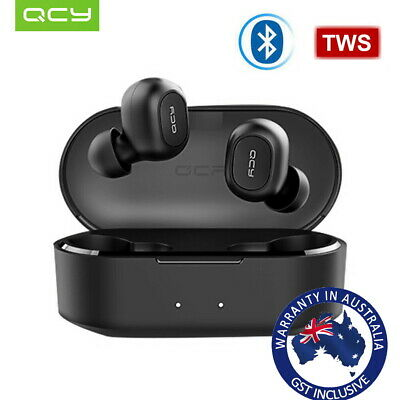 QCY T2S/T2C Bluetooth 5.0 TWS Wireless Stereo Mini Headsets Earbuds Earphones