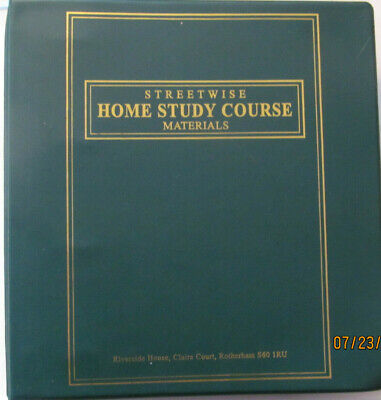 Streetwise property entrepreneur manual Home study course