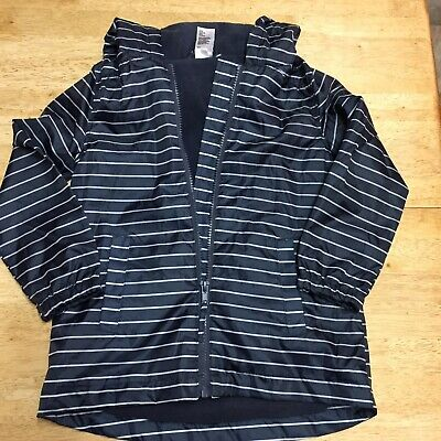 Childs' H&T Navy And White Waterproof Jacket - Size 5 - Nwot