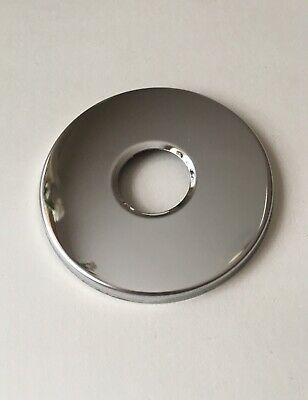 1//2BSP Chrome Pipe Collar 60//70mm Angle Valve Decorative Cover Adjustable Height