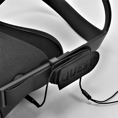Cable Tidy Holder For Oculus Quest Earphone Headphone Cable In BLACK
