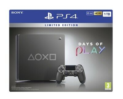 Console Sony Ps4 1Tb Playstation 4 Limited Edition Days Of Play