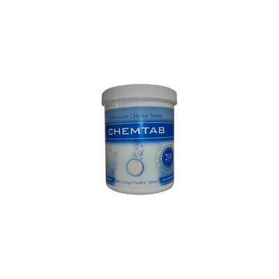 VCHECT CPD White Chemtab Effervescent Chlorine Tablets (Pack of 200)