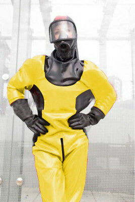 Unisex Latex Lange Gummi Bodysuit Kostüm 0.4mm Firefight Cosplay Catsuit S-XXL