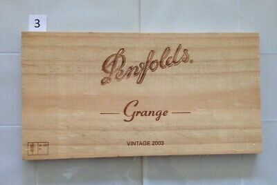 "P3 Wine Box Side PANEL: Vintage 2003 Penfolds ""Grange"" - Australia."