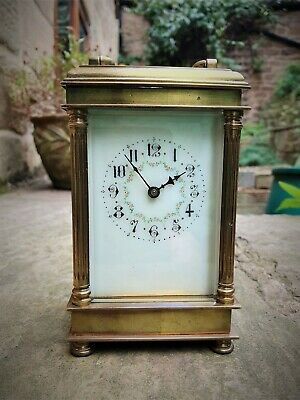A Beautifully Styled Early French 8-Day Carriage Clock - Gw Order