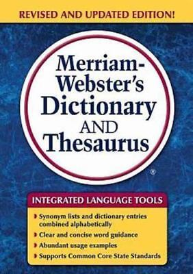 Merriam-Webster's Dictionary and Thesaurus, Newest Edition [c] 2014