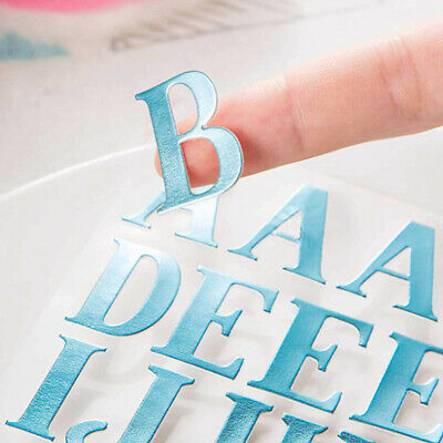 Self Adhesive Card Making Kids Decoration Letter Stickers Handmade  Peel Off