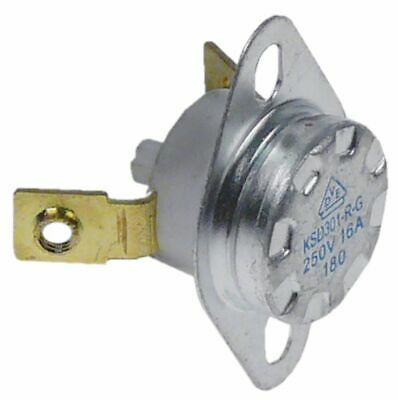 Bi-Metal Safety Thermostat Hole Distance 23,5Mm Switch-Off Temp. 180°C.