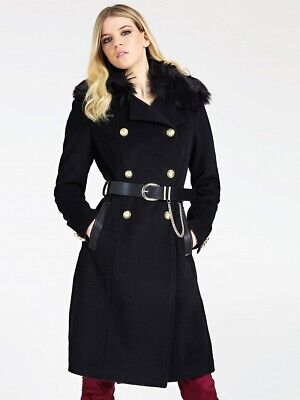GUESS CAPPOTTO Donna Luann 94Gl77Wc4R0 EUR 229,90