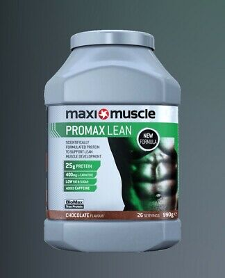 Whey Protein Powder Promax Lean Body Building Muscle Development chocolate NEW