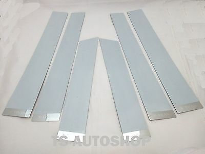 4 DOOR PILLAR PILLARS PLATE STAINLESS COVER FOR NEW MITSUBISHI TRITON 2015 TRUCK
