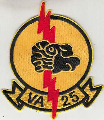 Va-25 Fist Of The Fleet Throwback Chest Patch