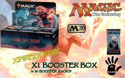 Magic Core 2020 M20 Booster Box ~ NEW SEALED MtG ~ IN HAND