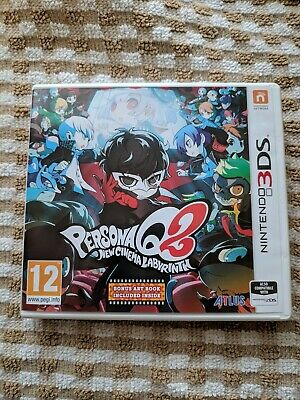 Persona q2 new cinema labyrinth 3ds Without Artbook