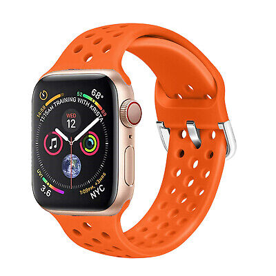 Replacement Silicone Sport Band Strap For Apple Watch 5/4/3/2/1 iWatch 42mm 44mm