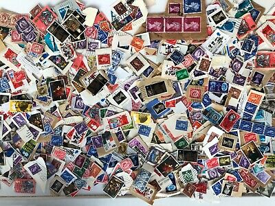 100 grams GB Pre Decimal Kiloware postage stamps def and comms mainly on paper