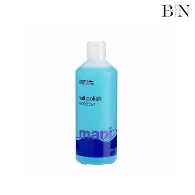 Strictly Professional Nail Polish Remover 500ml (GENUINE PRODUCT - WORTH £26.99)