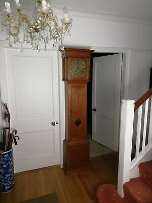 Single Finger Brass Faced Longcase Grandfather Clock John Blundell Circa 1710