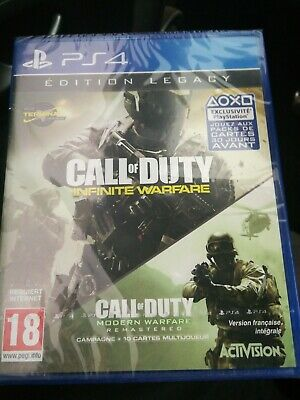 Jeu Ps4 Call Of Duty Infinite Warfare Edition Legacy Sous Blister