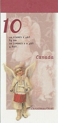 """Canada, 1999, """"Christmas - 46 Cents"""" Booklet Of 10 Stamps Mint Nh Fresh"""
