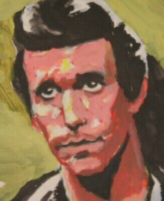 From my Original Painting. Now Print on Canvas Must Have Wall Hang 'The Fonz'