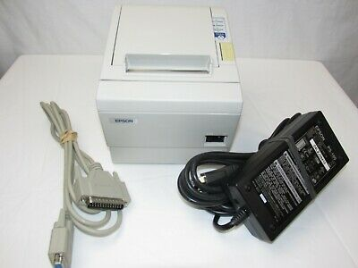 Epson TM-T88III M129C Serial Interface POS Thermal Receipt Printer with Cables