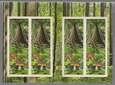 """Canada, 2011, """"Year Of Forest"""" Booklet Of 8 Permanent Stamps Mint Nh Fresh"""