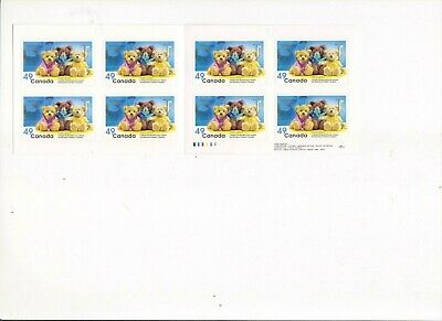"""Canada, 2004, """"Montreal Children Hospital-49C"""" Booklet Of 8 Stamps Mint Nh Fresh"""