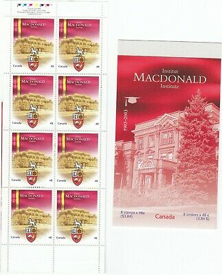 """Canada, 2003, """"Universal Of Canada -48C"""" 5 Booklet All Of 8 Stamps Mint Nh Fresh"""