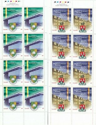 """Canada, 2004, """"Universal Of Canada-49C"""" 2 Booklet Both Of 8 Stamps Mint Nh Fresh"""