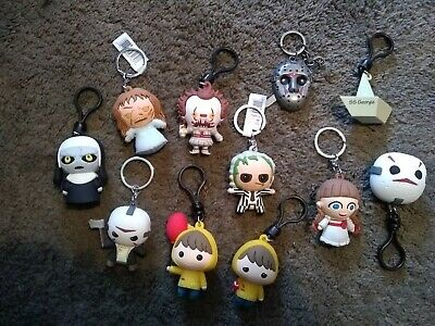 Horror Properties Keychains Lot Of 11