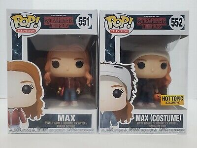 Funko Pop! Television Stranger Things Max Common & Hot Topic Exclusive Halloween