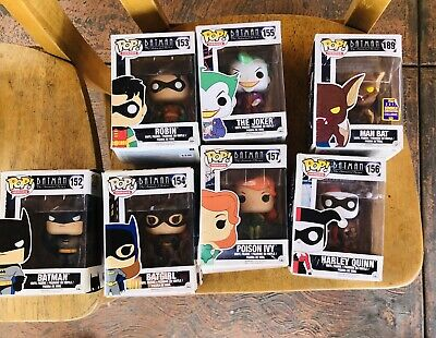 Funko Pop Batman Animated Series Lot