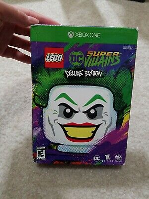 NEW SEALED LEGO DC Super-Villains Deluxe Edition Microsoft Xbox One Game