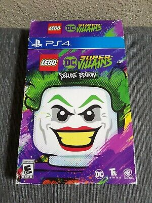 LEGO DC Comics Super Villains DELUXE EDITION PS4 NEW SEASON PASS LEX LUTHOR READ