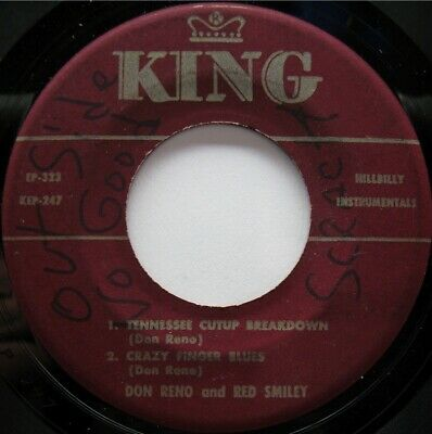 Don Reno Red Smiley King Ep323 Hillbilly Bluegrass 50'S