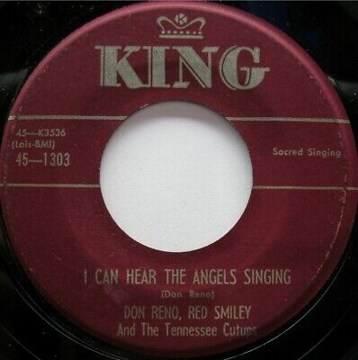 Don Reno Red Smiley King 1303 C&W Sacred Bluegrass 50'S