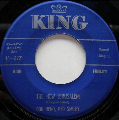 Don Reno Red Smiley King 5221 C&W Sacred Bluegrass 50'S
