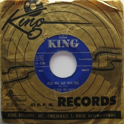 Don Reno Red Smiley King 5286 Sacred Bluegrass Country!