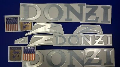 "Donzi boats Emblems 28"" + FREE FAST delivery DHL express - Stickers Set - decal"