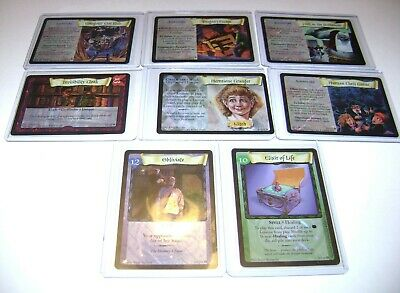Harry Potter Trading Cards Lot with 8 Holographic Cards Obliviate 14/116