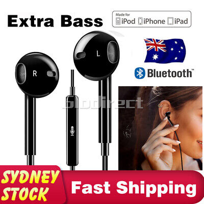 Bluetooth Earbuds Earphone For Earpods Headphones Headset iPhone 8 Plus X XS AU