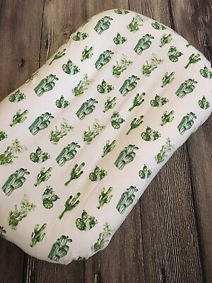 Snuggle Me Organic Toddler Slip Cover Baby Girl Boy Lounger Floral Cactus Deer