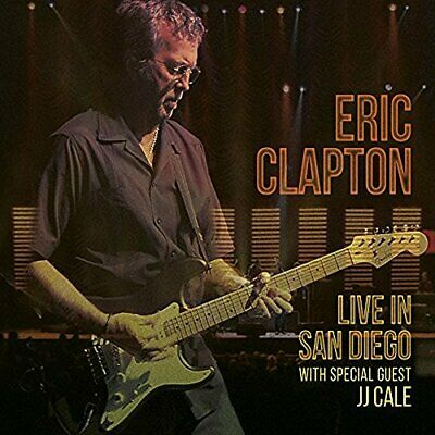 `Clapton, Eric`-Live In San Diego With Special Guest Jj Cale (Uk Import) Cd New