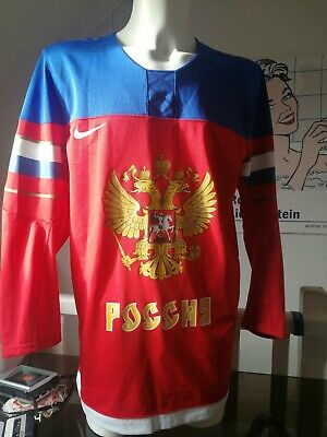 Maillot Hockey sur glace Nike Russie 2014 taille m t shirt sotchi